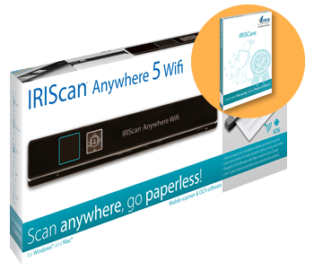 IRISCare para IRIScan Anywhere
