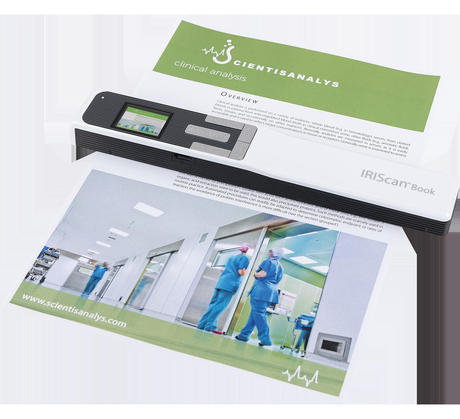 IRIScan Book 5 - book scanner