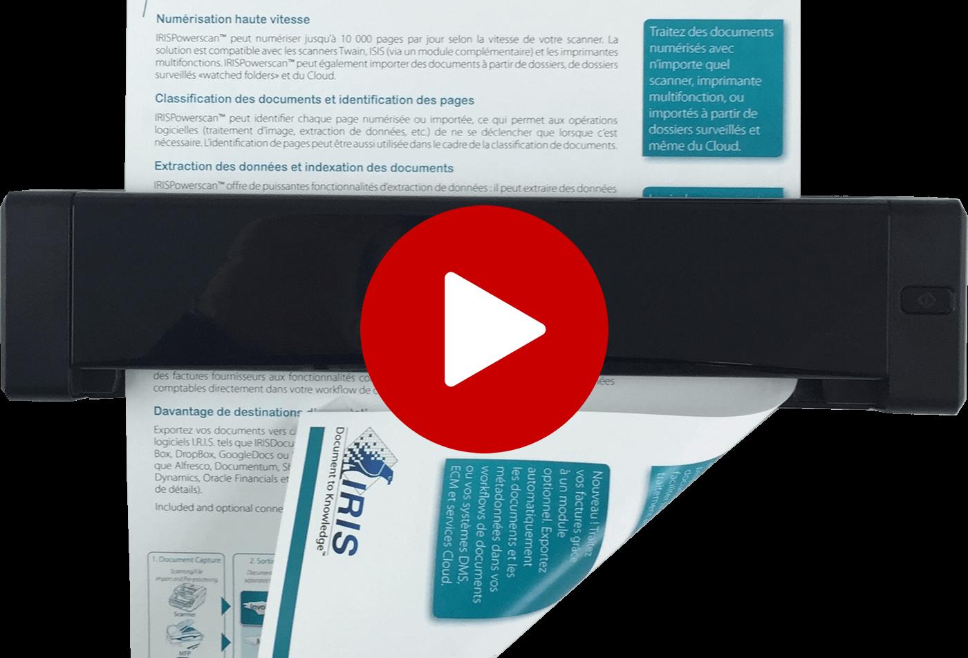 IRIScan Executive 4 -USB duplex scanner
