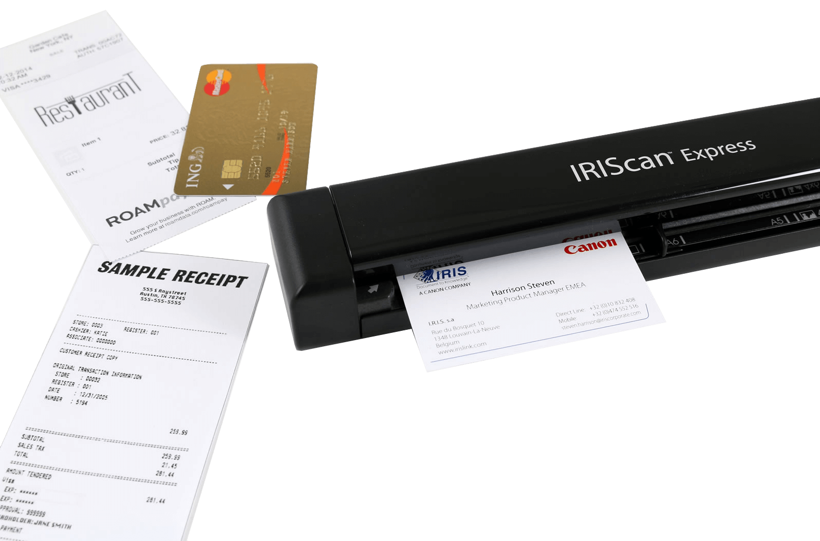 IRIScan Express 4 - Scan your documents in a few seconds