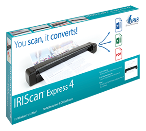 IRIScan Express 4 box