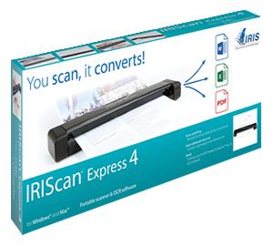Caja del IRIScan Express 4
