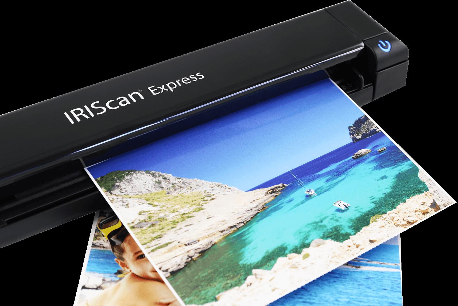 IRIScan Express 4 - Conserve sus recuerdos familiares más preciados