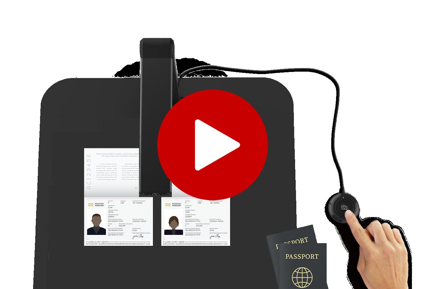 Iriscan Desk 5 Security Passport Id Camera Scanner