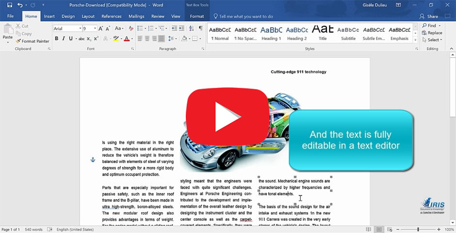 Readiris 17, the PDF and OCR solution for Windows