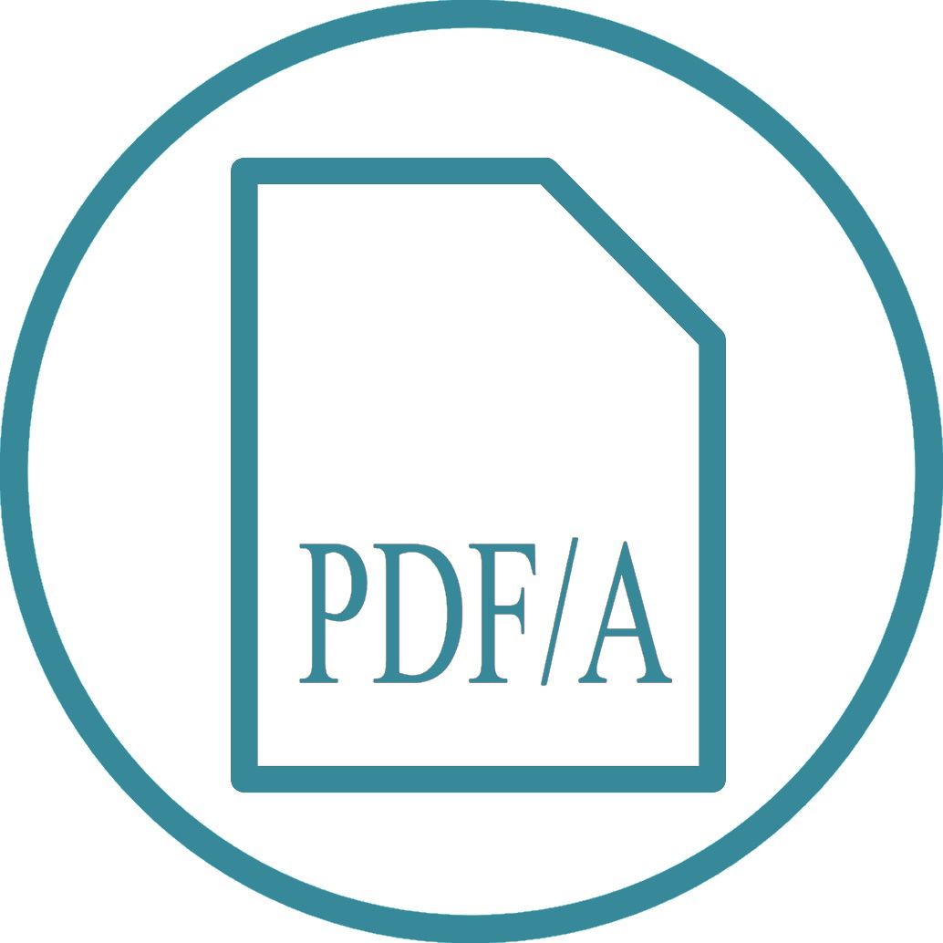 Transfer                                         archived data into PDF/A